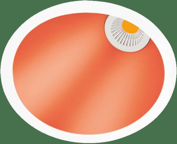 swap asymmetric arkos light soffitto incasso
