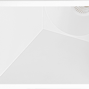 swap square asymmetric arkos light soffitto incasso