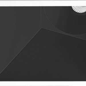 swap square asymmetric arkos light soffitto incasso