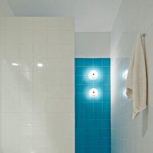 minibutton flos piero lissoni lampada soffitto parete