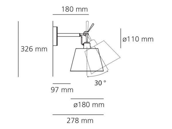 tolomeo diffusore 18 artemide michele de lucchi giancarlo fassina