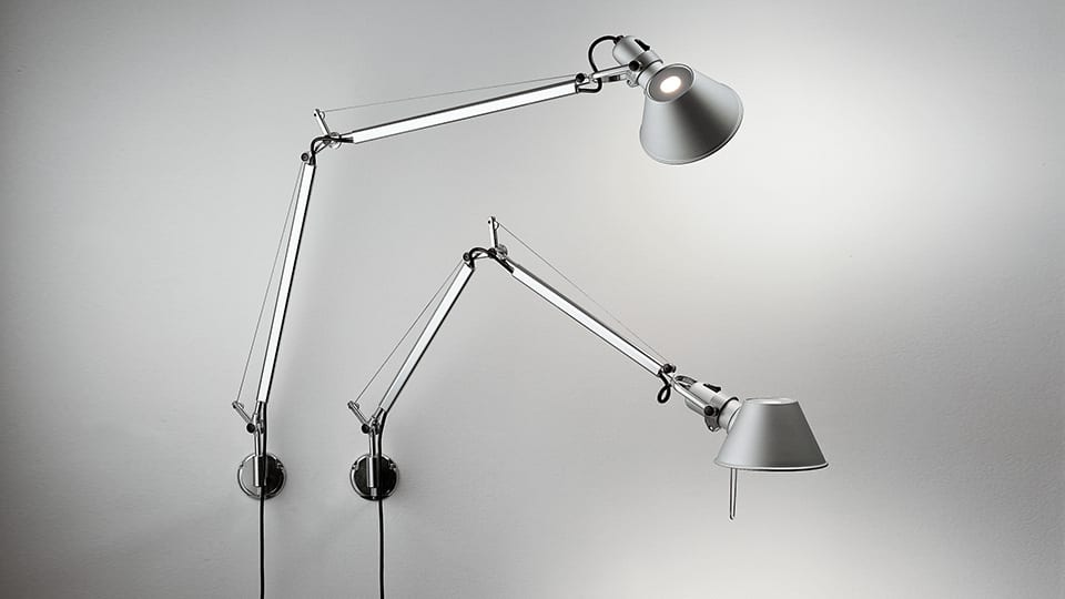 Lampade Da Soffitto A Led Artemide : Artemide tolomeo led wall lid design