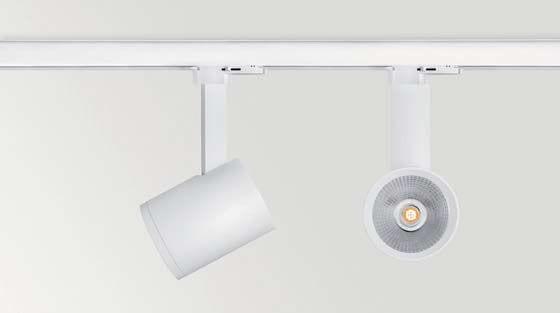 io arkoslight lampada da soffitto binario bianco nero faretto proiettore