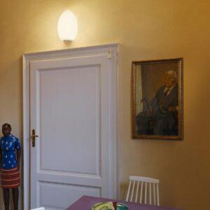 uovo fontana arte lampada da parete