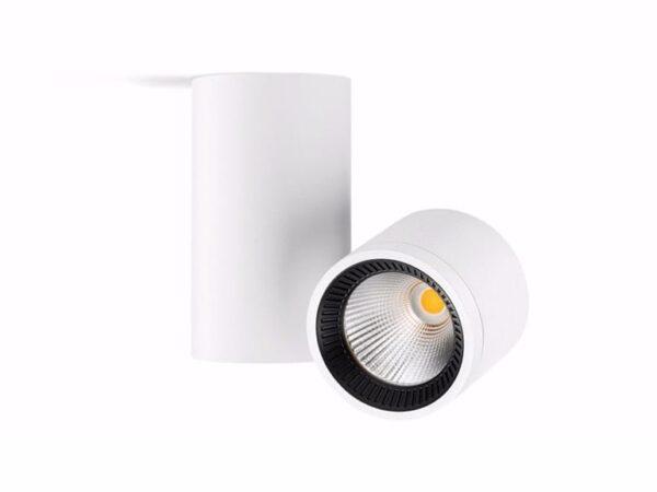 io arkoslight lampada da soffitto bianco nero faretto proiettore