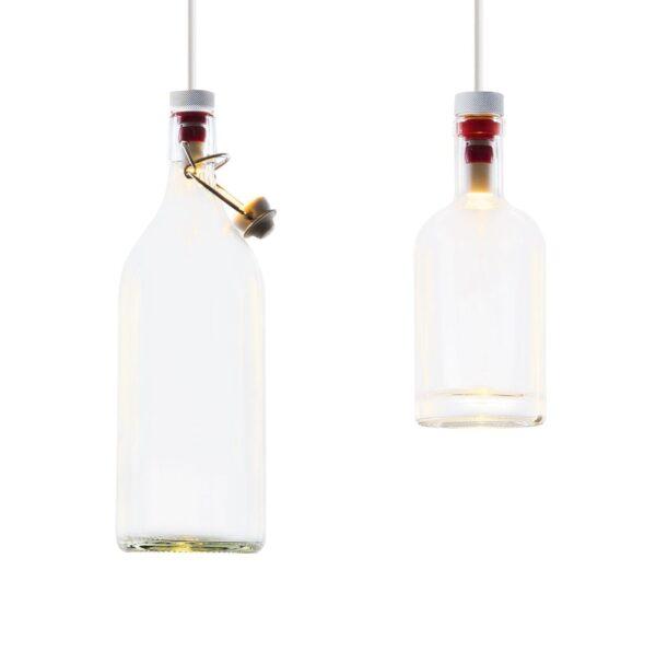 cork wever & ducré lampada a sospensione minimalista multi sospensione multi suspension white black piccolissimo bianco nero piccolo faretto