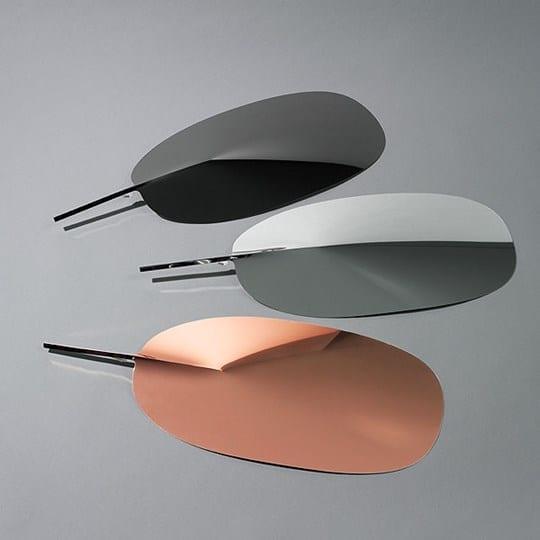 serena flos patricia uquiola lampada da tavolo rame alluminio nero