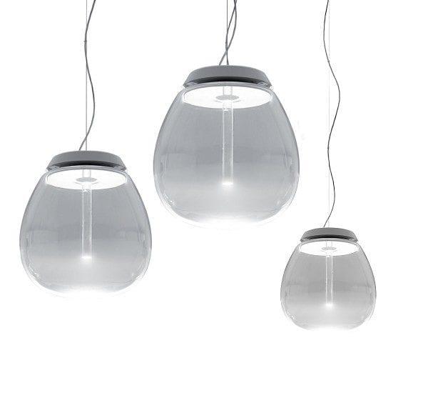 empatia artemide lampada a sospensione vetro soffiato
