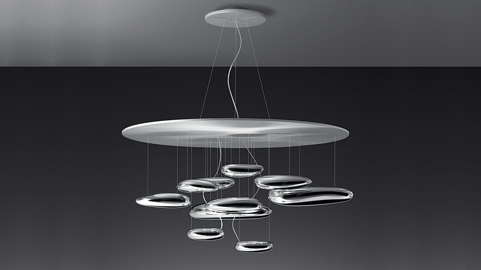 Lampade Da Soffitto A Led Artemide : Artemide mercury led suspension lid design