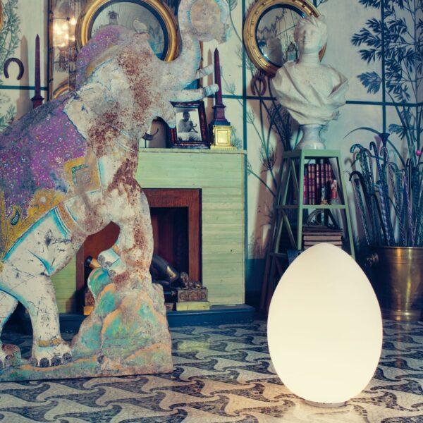 uovo fontana arte lampada da terra