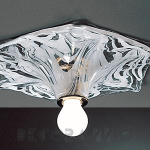 629 la murrina vetro murano plafoniera bianco topazio lid
