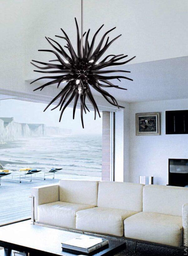 medusa la murrina lampada a sospensione vetro murano lid
