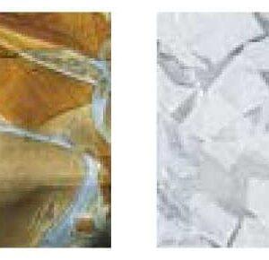684 la murrina vetro murano plafoniera bianco topazio lid