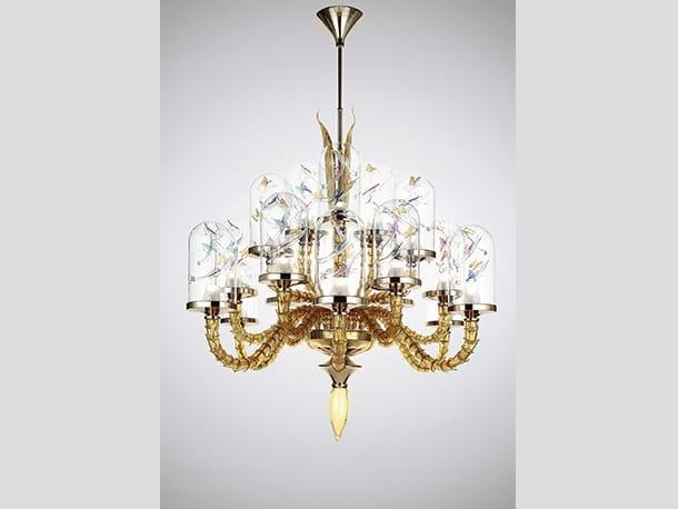 la murrina jardin de verre s18 chandelier lid design