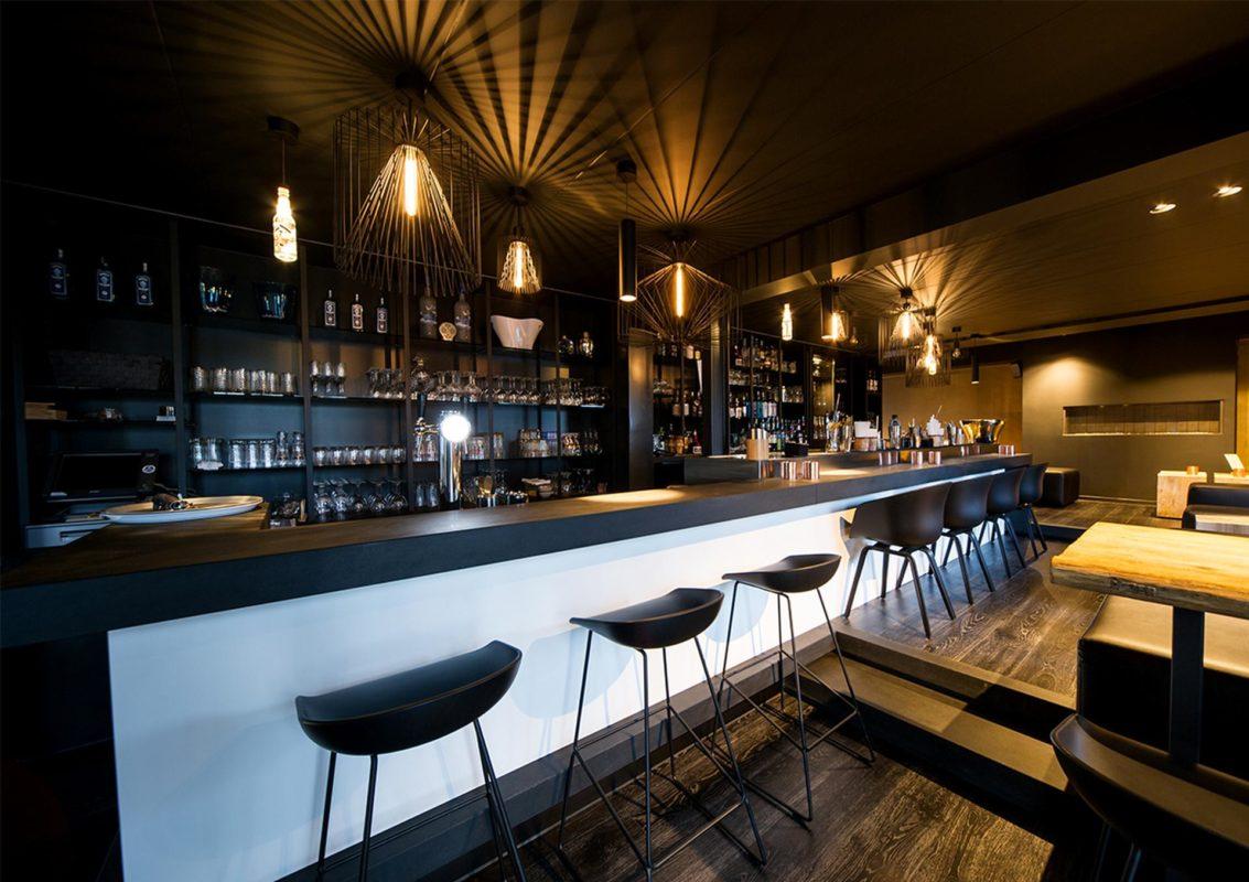 Progetto Illuminazione Ristorante : Riqualificazione interni bar ristorante