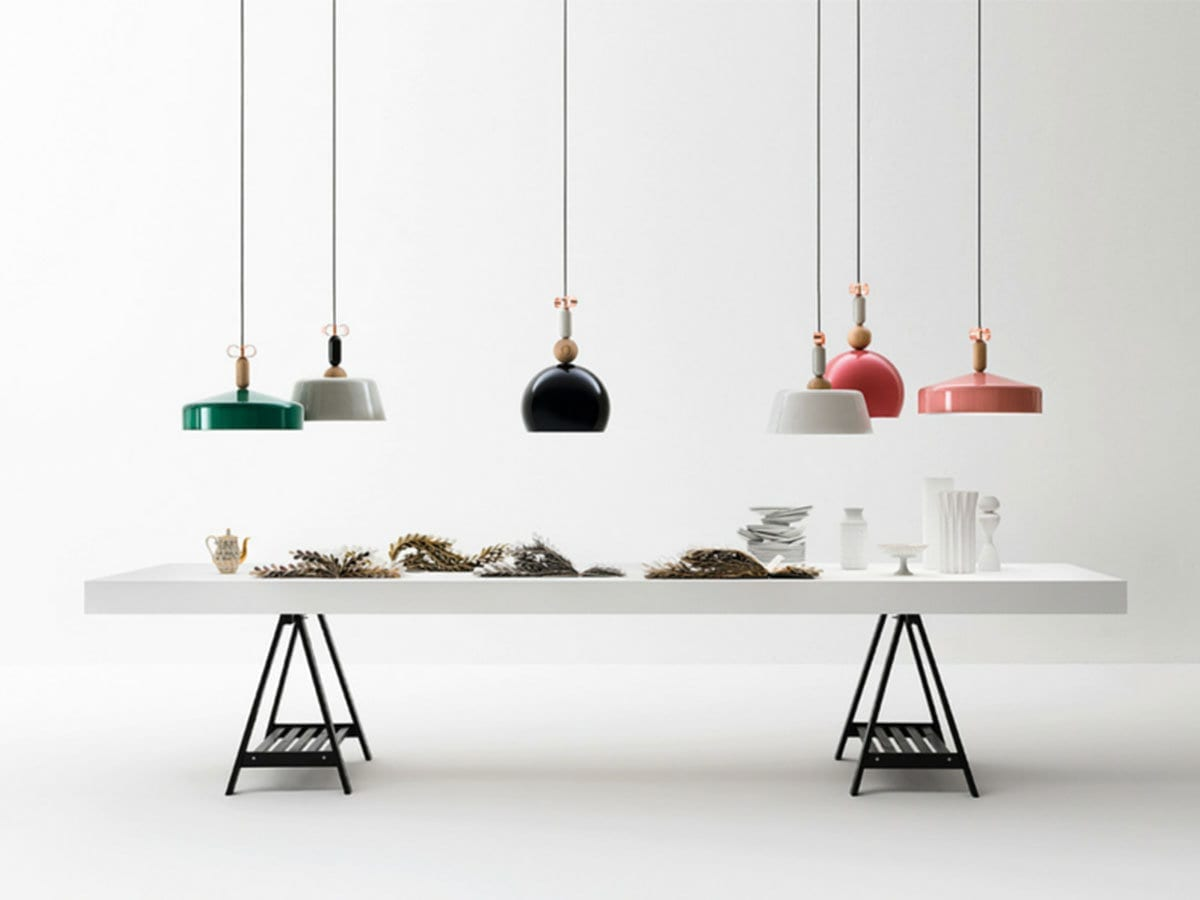 Come illuminare un tavolo da pranzo lid design - Mollettone per stirare sul tavolo ...