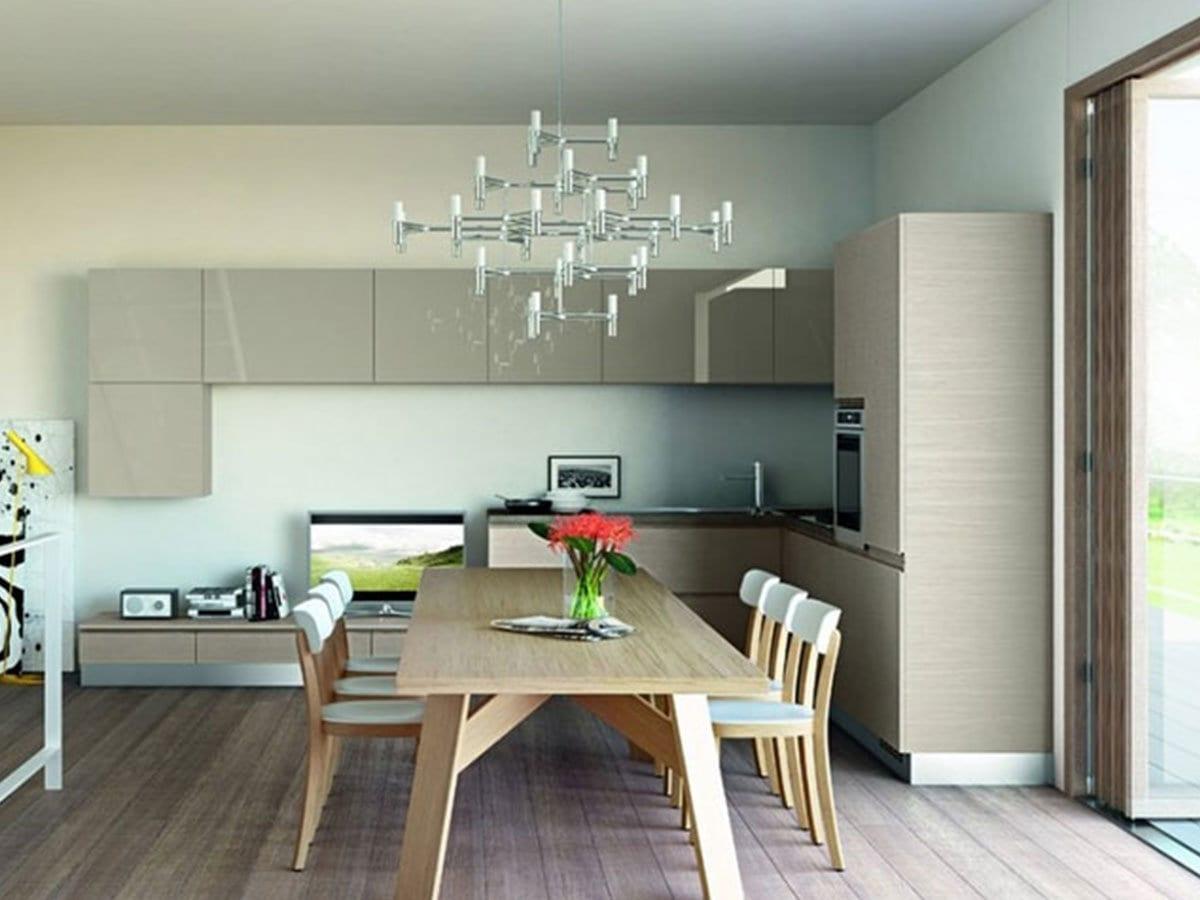 Great il tavolo da pranzo in questo modo si avr sempre una quantit di luce adeguata per i pasti - Stanze da pranzo ...