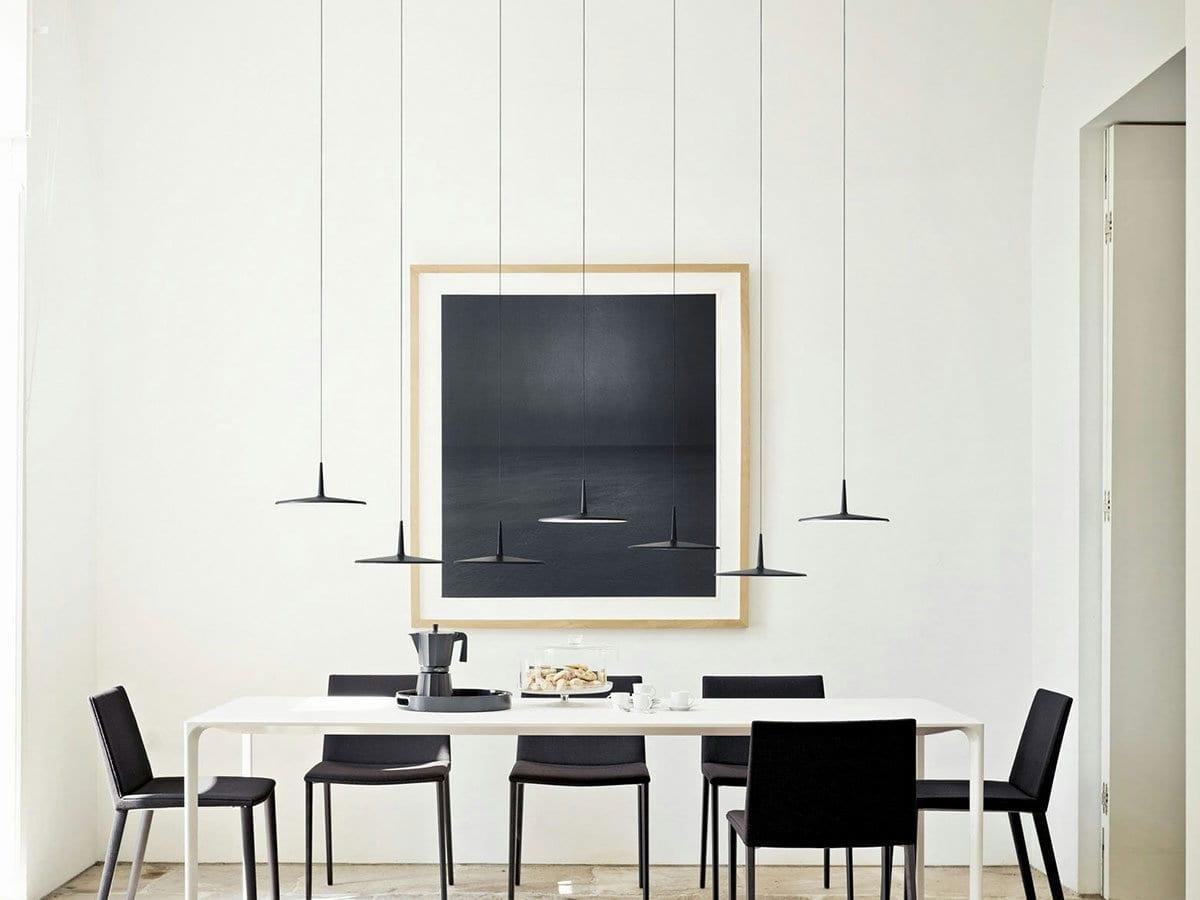 Illuminazione Camera Da Letto Scelta Sospensioni : Come illuminare un tavolo da pranzo lid design