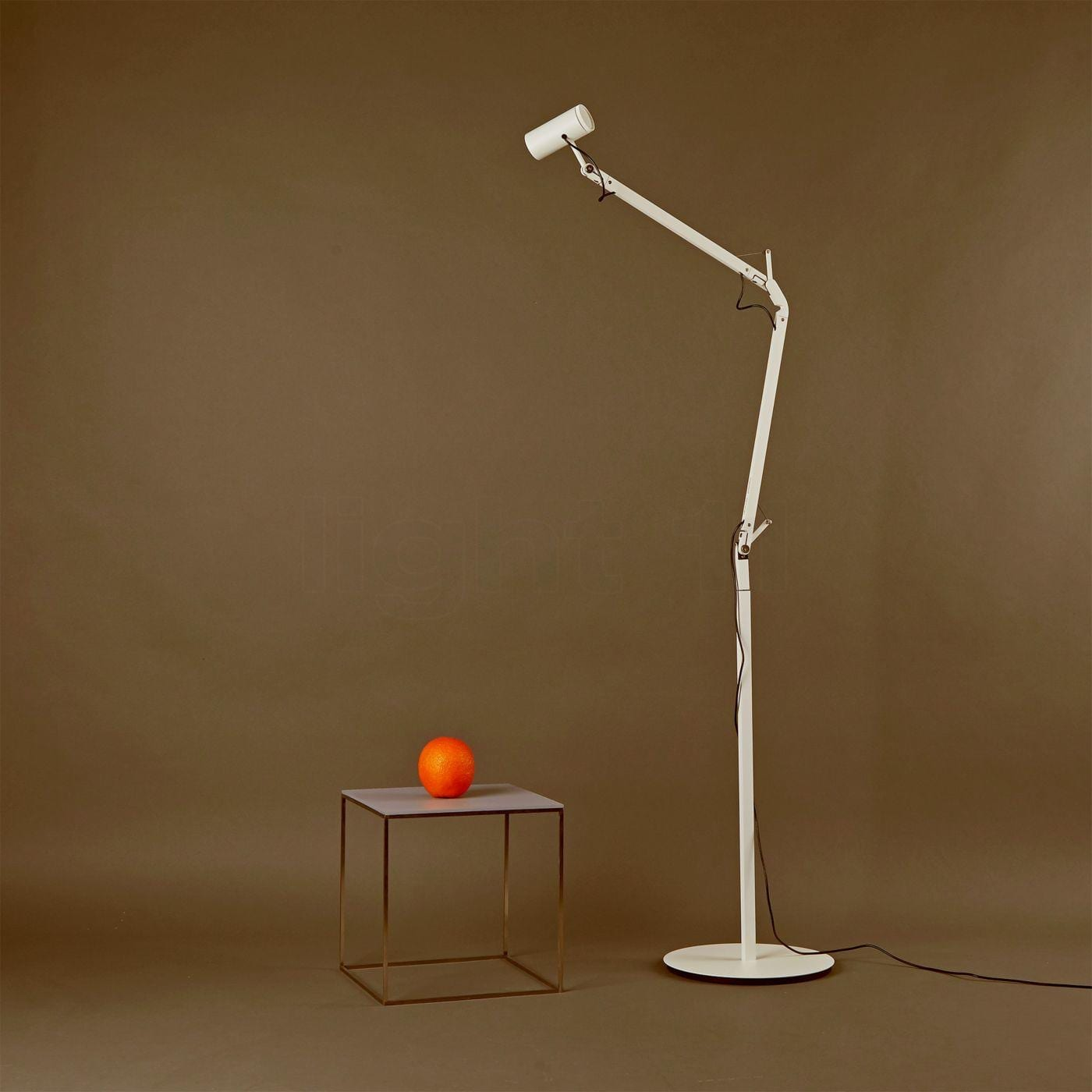 Marset polo floor lamp lid design for 8 floor lamp
