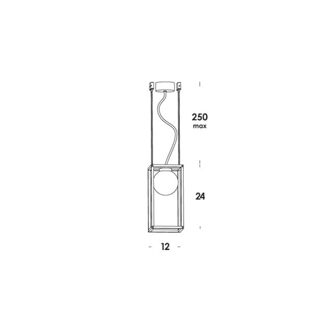 Vesoi multiplo s suspension lid design for Suspension multi lampes