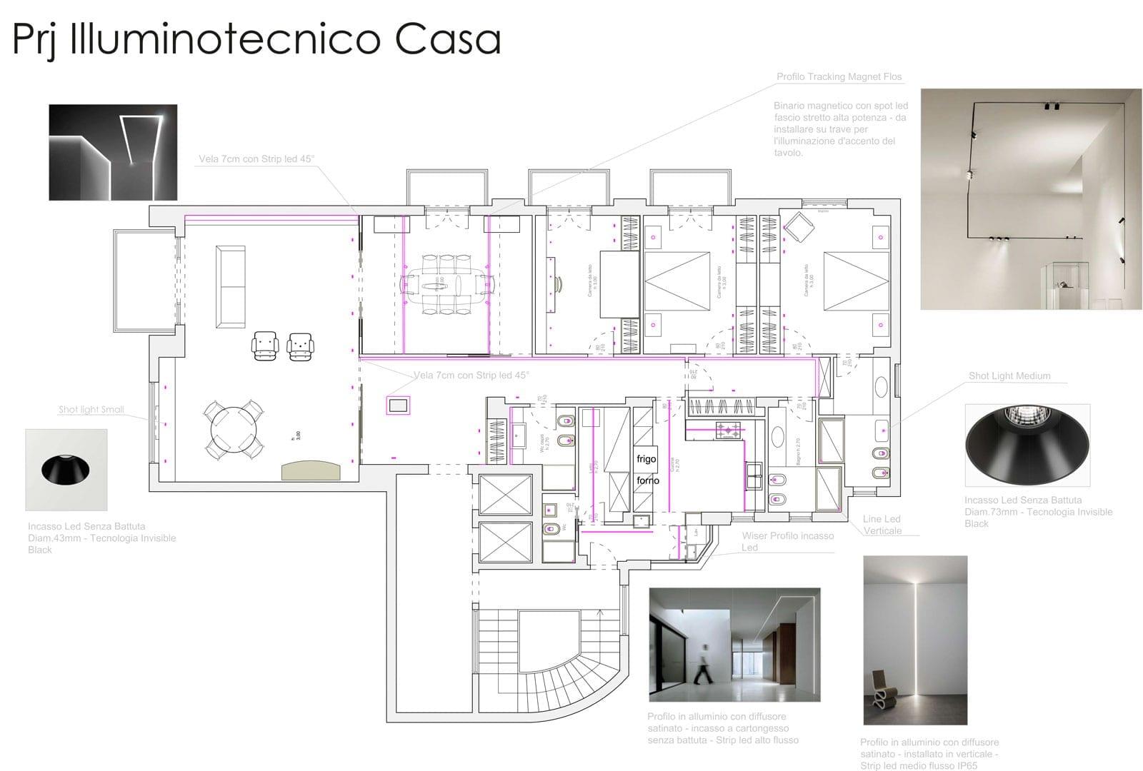 Strip Led Piu Luminosi progetto illuminazione casa | lid design