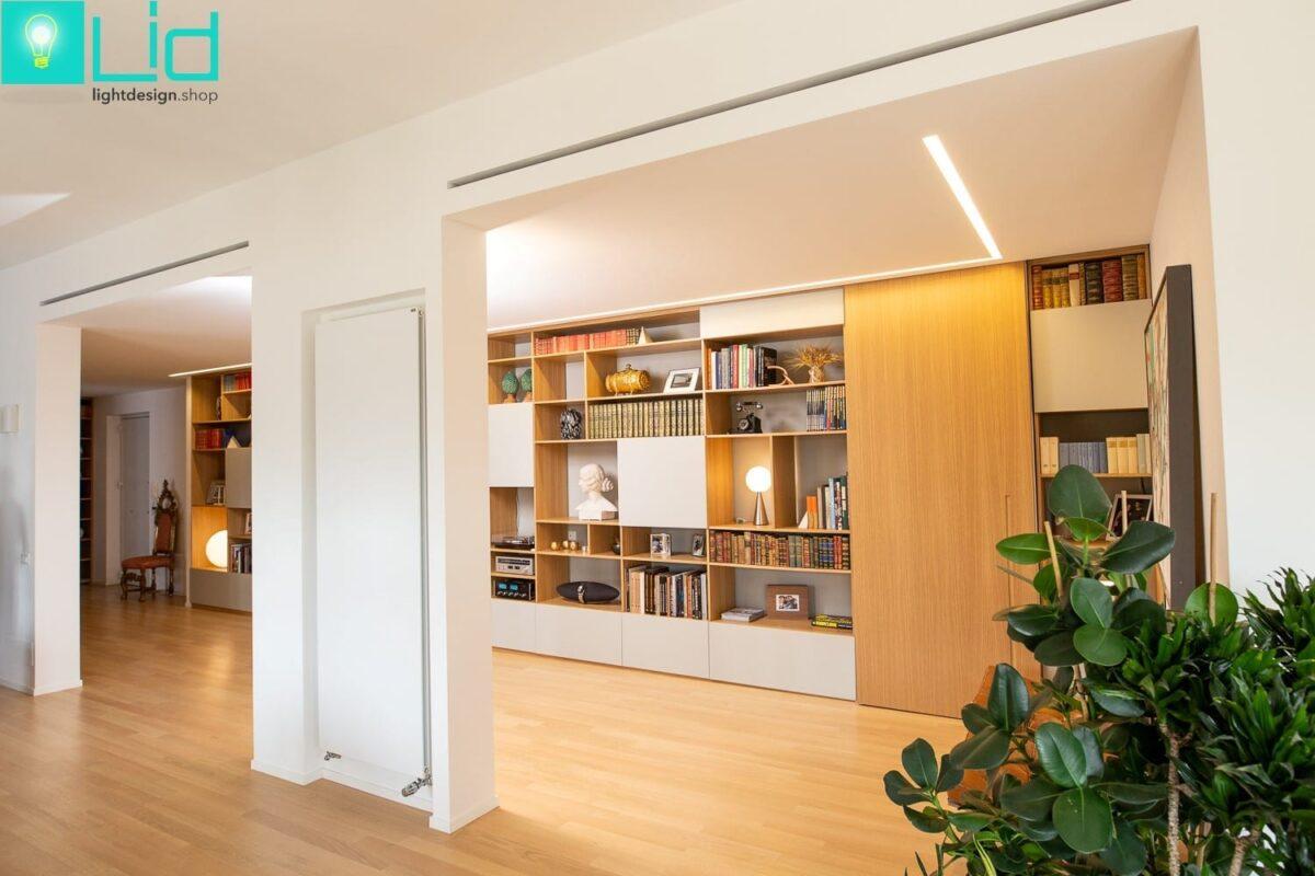 Progetto illuminazione casa dl lid design