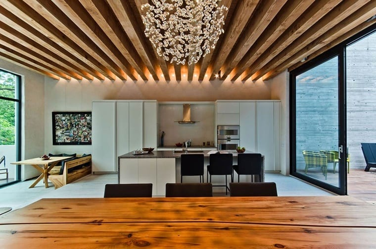 Tips How To Light Up Wooden Beams