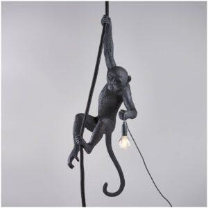 Seletti MONKEY LAMP – ceiling outdoor – black