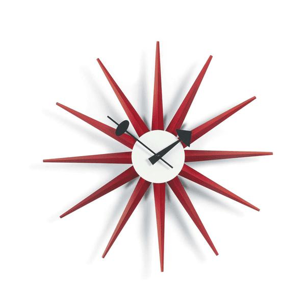 VITRA_sunburst-clock-rosso