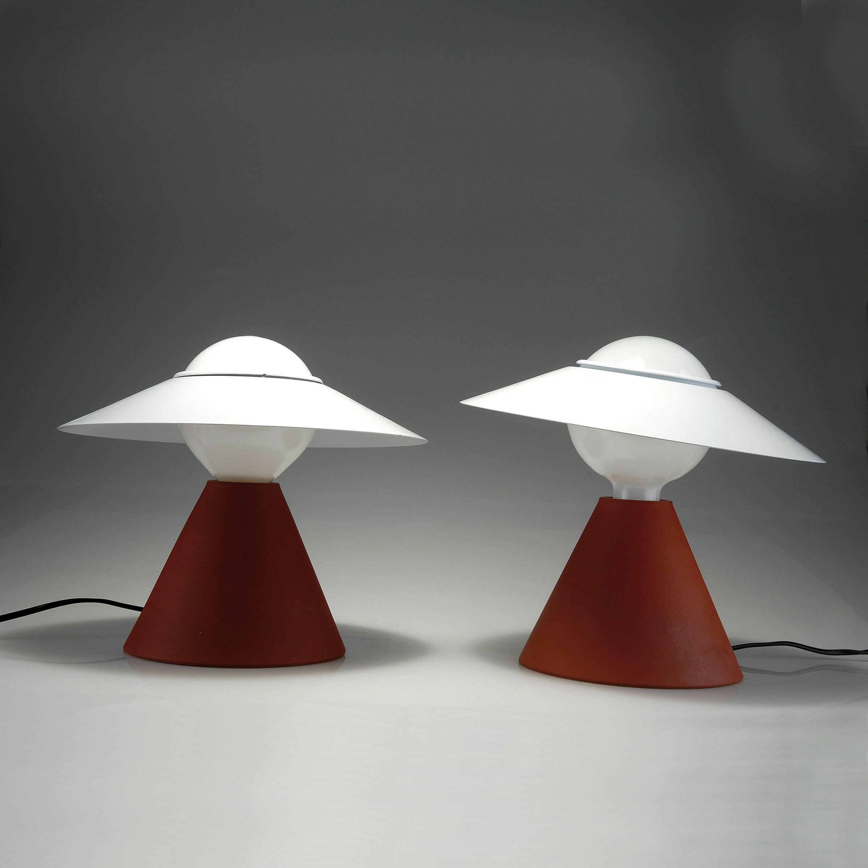Stilnovo Fante Tavolo Rosso Lid Design