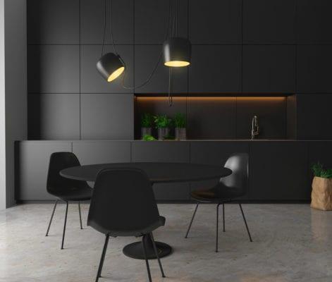 lampade Total Black