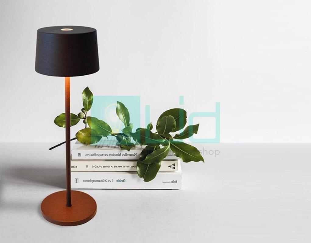 lampada ricaricabile ai lati olivia